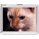 H5S671 Cigarette Case with lighter Cat Animal Picture Free shipping