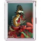 H5S667 Cigarette Case with lighter Butterfly Animal Picture Free shipping
