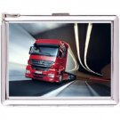 H5S639 Cigarette Case with lighter Truck Picture Free shipping