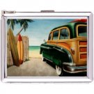 H5S626 Cigarette Case with lighter Classical car Picture Free shipping