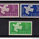 Cyprus Europa 1961 mnh
