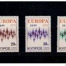 Cyprus Europa 1972 MNH
