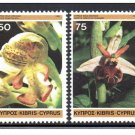 CYPRUS 568a mnh Wild Orchids Flowers