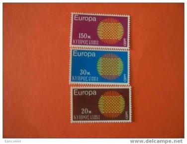 Cyprus Europa 1970 MNH