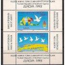 Cyprus Turkey Europa 1995 MNH SS