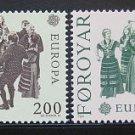 FAROE EUROPA 1981 mnh