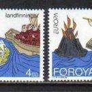 FAROE EUROPA 1994 mnh