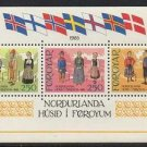 FAROE Islands SS Costumes mnh