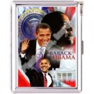 H5S50 Cigarette Case with lighter Barack Obama Picture Free shipping
