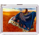 H5S435 Cigarette Case with lighter American Native Picture Free shipping