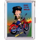H5S562 Cigarette Case with lighter Betty Boop Picture Free shipping