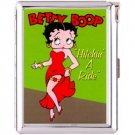H5S570 Cigarette Case with lighter Betty Boop Picture Free shipping