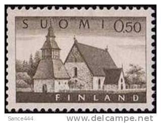 Finland 407 mnh church