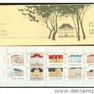 FINLAND 672 booklet mnh manor Houses