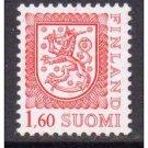 FINLAND Lion 1.60 mnh scott 711