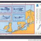 FINLAND SS 773 mnh Planes