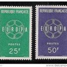 France Europa 1959 mnh scott 929-30