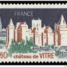 FRANCE 1547 mnh Scenic Views Chateau de Vitre