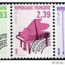 FRANCE 2237-9 precancelled mnh