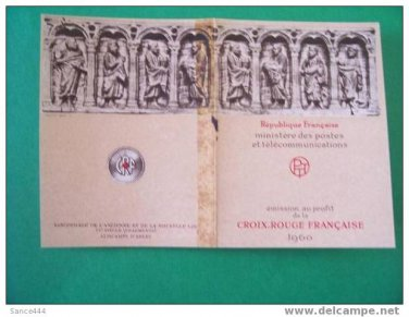 FRANCE B347a mnh booklet Red Cross