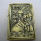 Pirates Caribbean Brass Pocket Lighter #22 Free shipping