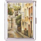 H5S403 Cigarette Case with lighter Paris France Picture Free shipping