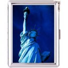 H5S410 Cigarette Case with lighter New York Picture Free shipping