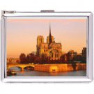 H5S412 Cigarette Case with lighter Paris France Picture Free shipping