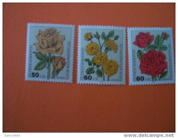 GERMANY B600-2 mnh Flowers
