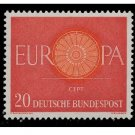 Germany Europa 1960 mnh Scott 818-20