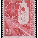 Germany 700 mnh Transport and Communication Expo