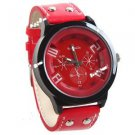 New Watch with Synthetic Leather Band #377 Free shipping