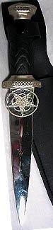 Athame: Celtic Pentagram: RAK27