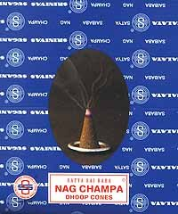 Cone: Nag Champa (12 with stand):ICNAGC