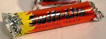 Charcoal 33mm Roll