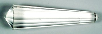 """Massager: Quartz Double Terminated 16 sided ~2"""" long:GMDQ"""