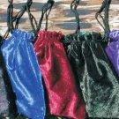 Crushed Velvet Tarot Bags, Unlined CRVTBU501-505 dwp