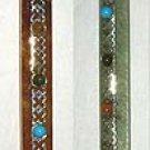 Wand: Flower of Life 7 Chakra Healing Stick:RWFLO