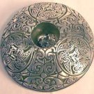 "Celtic Animals Taper Holder, pewter (3 3/8"" dia):CHANI"