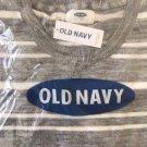 Old Navy Men's Sweater XL Reg. $69 NEW! Gray & White