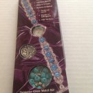 A Touch of Glass Jewelry Making Simulated Turquoise Glass Watch Kit