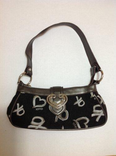 XOXO Black Shoulder Bag Purse small