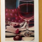 "SCOTT JACOBS ""GRAPE PERFECTION"" SERIOLITHOGRAPH IN COLOR ON PAPER W/COA"