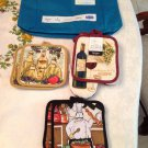 2 Pot Holder Sets, 1 Pot Holder and Mitten Set Free Tote