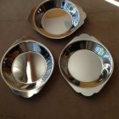 Stainless Steel All Purpose Tray Set of 3 Size Small New