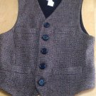 Authentic Dolce and Gabbana 100% Lambswool Button Down Vest 44