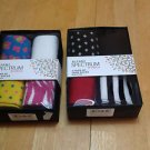 2 boxed sets of Alfani Spectrum Women's 4 Pairs of Crew Socks size 9-11