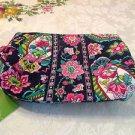 NWT Authentic Vera Bradley Medium Cosmetic Bag Petal Paisley