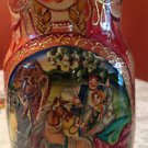 Matryoshka 7 Nesting Dolls Signed  Russian Fairy Tale ? Beautiful Authentic