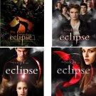 Lot Of 4 Eclipse Twilight Fabric Panel Quilt Squares